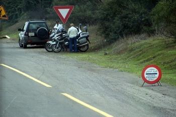 barrage contrôle de gendarmerie
