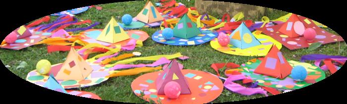 Carnaval :Les formes géométriques