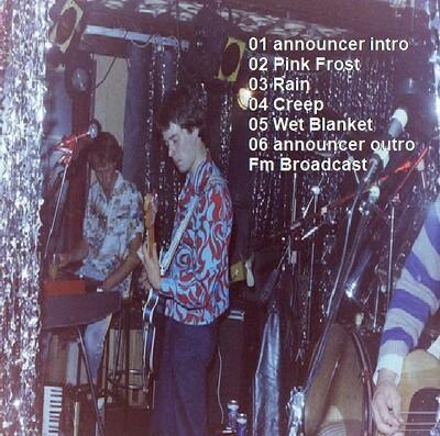 Live: The Chills - Rock Pavillion Melbourne - 20 février 1988 FM