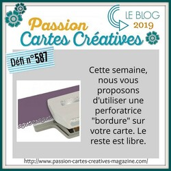 Passion Cartes Créatives#587 !