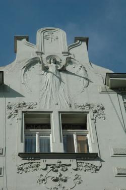 façades Place Nam Républiky à Plzen (26)