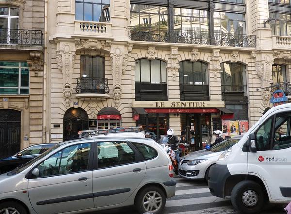 Architecture industrielle et commerciale rue Réaumur