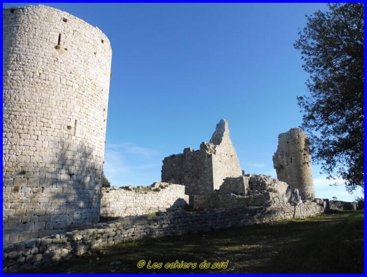 Le Castrum de Rougiers