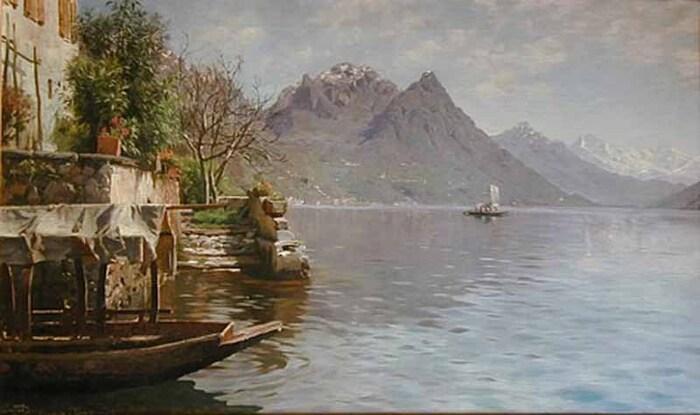 Peder Mork Monsted...  Le Peintre Aux Paysages Réalistes...