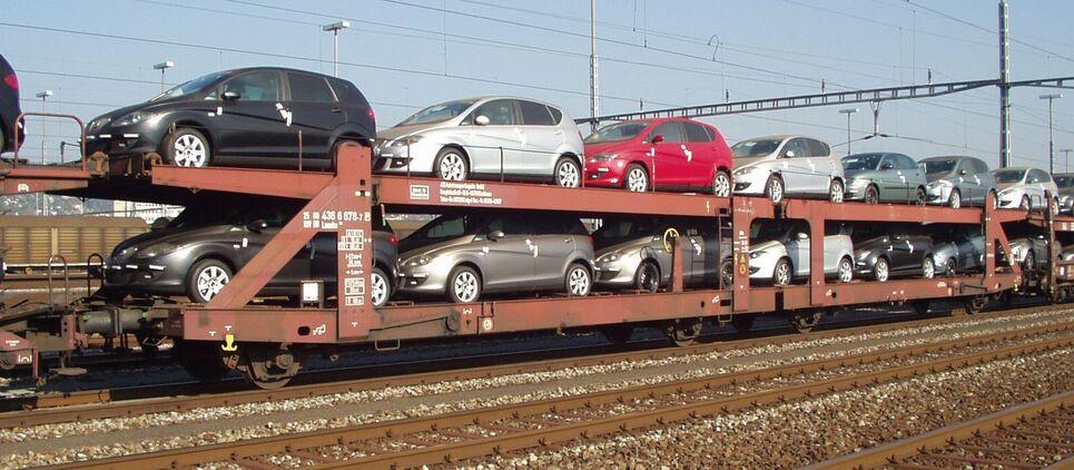 Wagon porte-automobiles