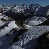 Du sommet du pic Peyreget (2487 m), Lurien, Palas, Balaïtous et Infiernos