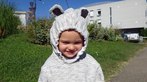 Un sweat panda pour le défi poches