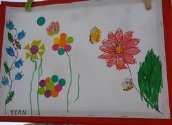 C'est le printemps: fleurs PS/MS de C.