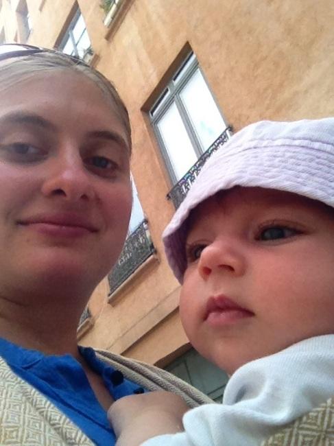 Avec Flavie et Daika à Lyon