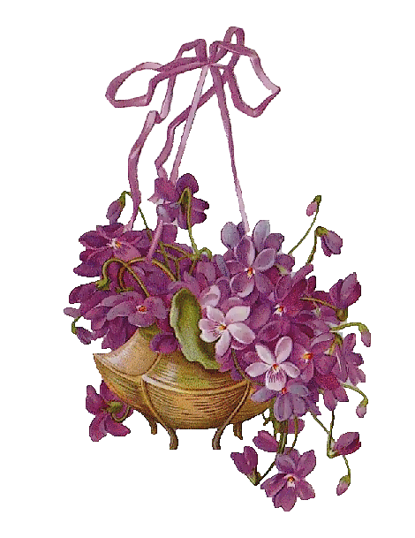 tubes victoriens / fleurs