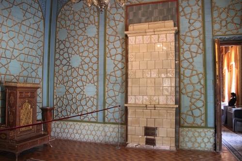 Boukhara : le palais Sitoraï Makhi-Khosa