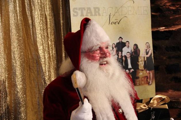 Photos du lancement médias de l'album de Noël de Star académie
