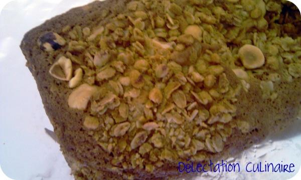 Cake crousti-blanc ou Cake au chocolat blanc/noix de coco et Céréales Extra Pépites