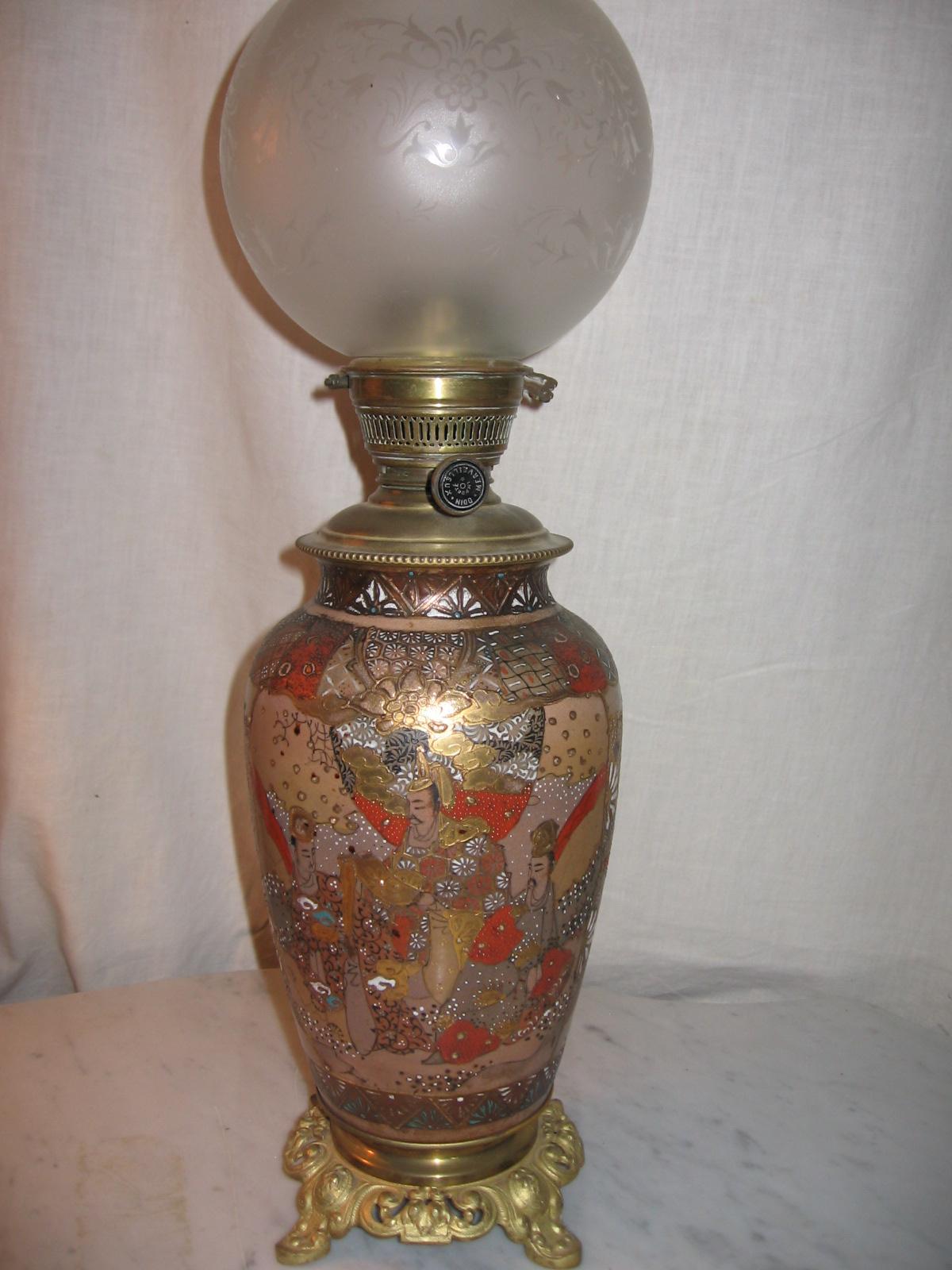 Lampes en poterie collection de lampes anciennes - Lampes de salon anciennes ...