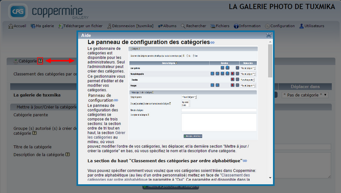 Installer Coppermine Photo Gallery sur Centos 7