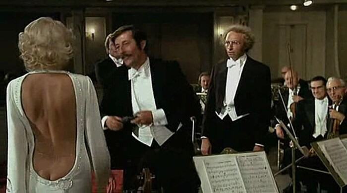 PIERRE RICHARD- MIREILLE DARC- JEAN ROCHEFORT - LE RETOUR DU GRAND BLOND - 1974