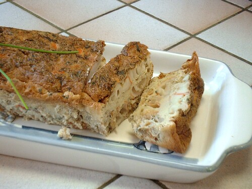 Terrine de surimi au pastis et à la coriandre