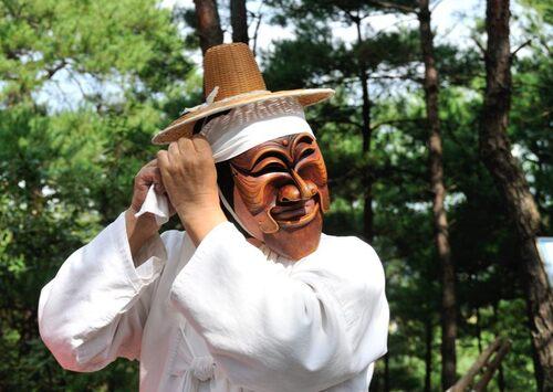 28 septembre - Andong, rituel chaman
