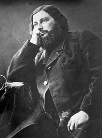 Gustave Courbet (par Nadar)