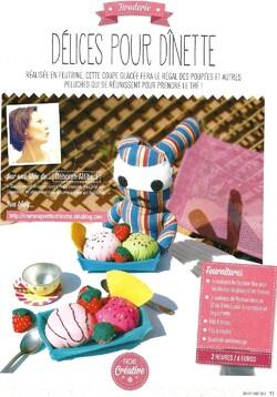 Magazine Créative Juillet / Août.