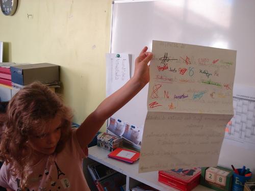 Correspondance scolaire CE1-CE2