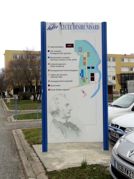 Portes ouvertes 2013 au Lycée Désiré Nisard de Châtillon sur Seine...
