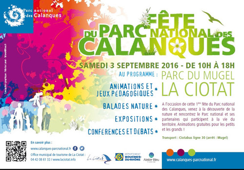 Fête du Parc National des Calanques 03 septembre 2016