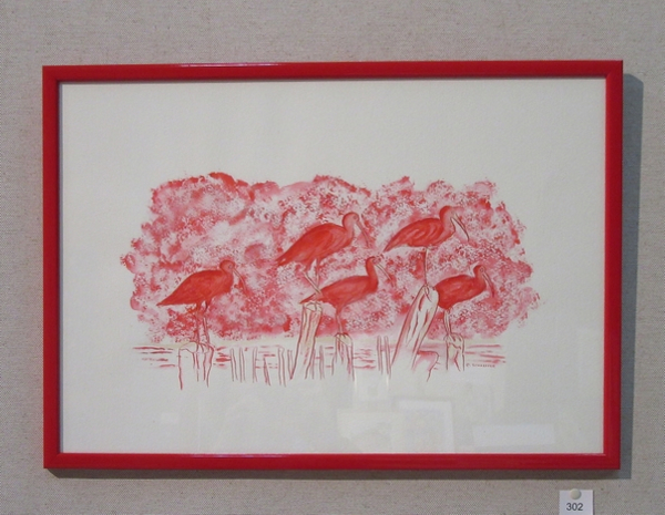 Le Salon des Amis des Arts de Montbard a présenté de bien belles œuvres, variées et superbement présentées