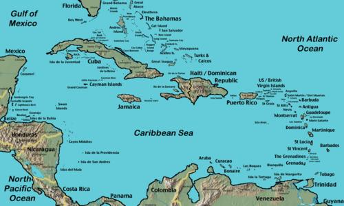 L'arc Caraïbe