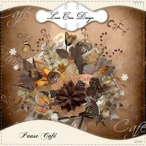 """* Kit """"Pause café"""""""