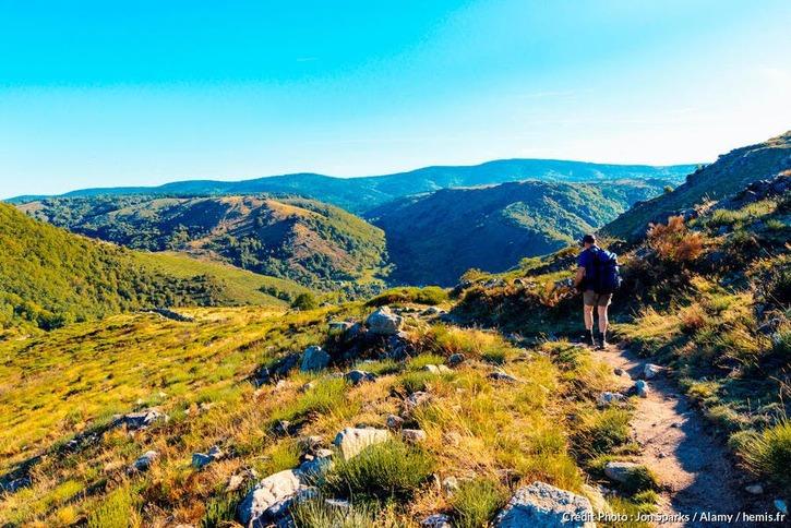 Le mont Lozère sur le sentier de Stevenson