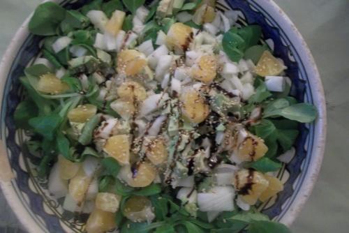 Salade légère fenouil et clémentine