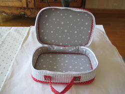 """une jolie valise """"french manucure"""""""