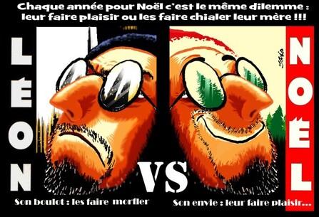 LEON VS NOEL