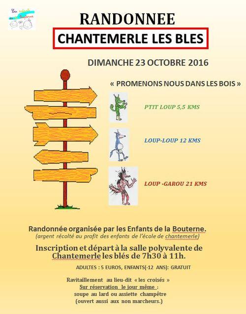 CHANTEMERLE LES BLES