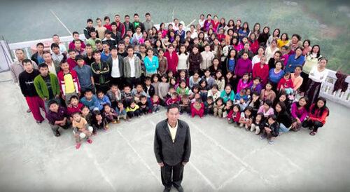 La plus grande famille du monde !