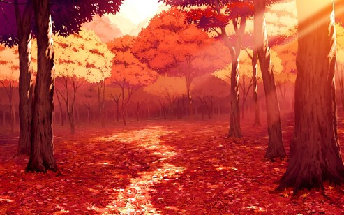 La frénésie de l'automne
