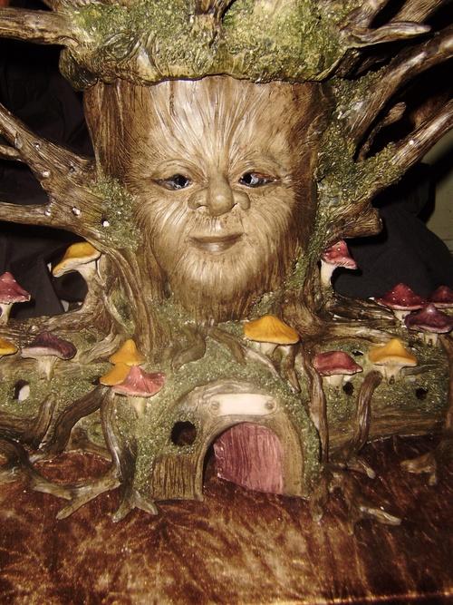 L'arbre magique.
