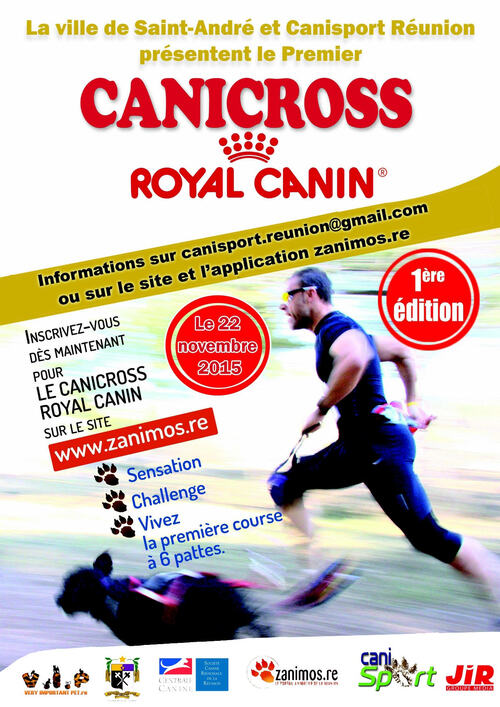 1er canicross Royal Canin
