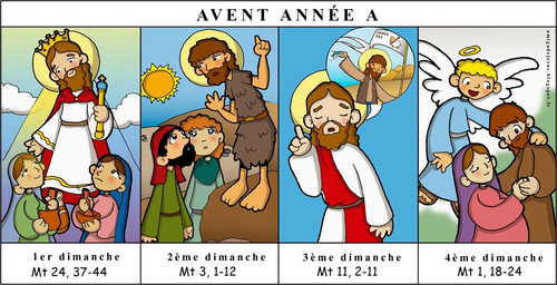 AVENT ANNEE A ILLUSTRATIONS