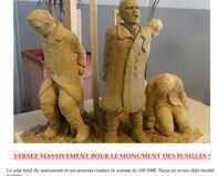 UN MONUMENT AUX FUSILLES POUR L'EXEMPLE 14-18!