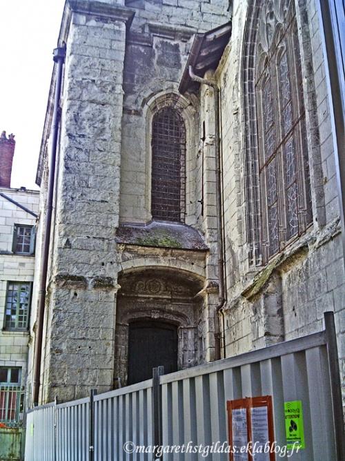 Saumur : l'église Saint Pierre - the Saint Peter church - 3