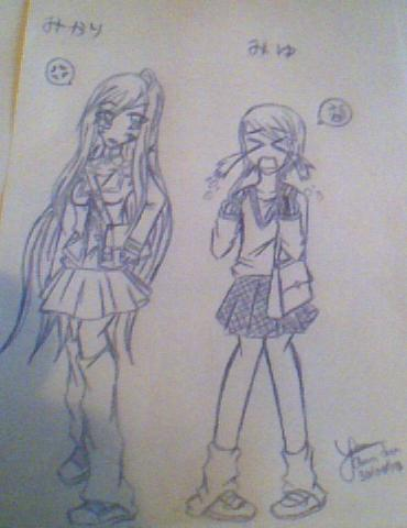 Mikari et Miyu