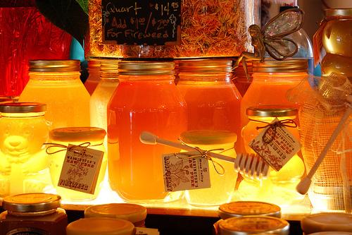 Un masque chez l'esthéticienne au gout de miel