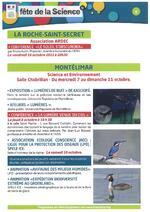 Fête de la science dans la Drôme octobre 2015