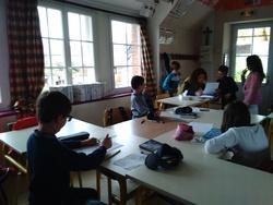 Un auteur dans la classe