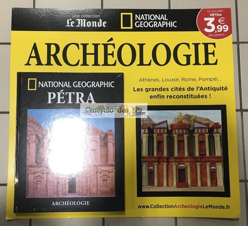 N° 1 Collection Archéologie - Lancement