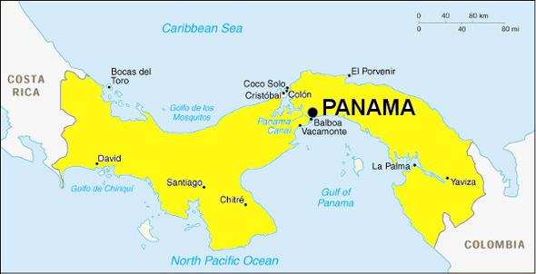 De retour du Panama...