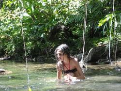Cascade de Ravine Gras, cascade Tambour