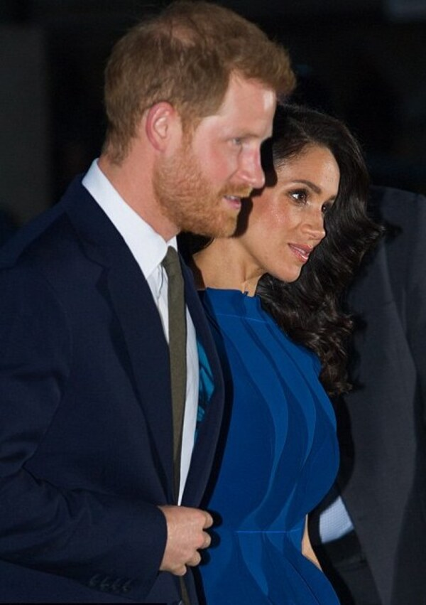 "Harry et Meghan - concert ""100 Days to Peace"""
